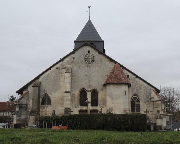 Photo du Monument Historique Eglise Saint-Parres situé à Onjon
