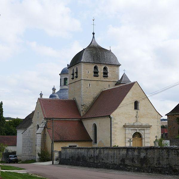 Photo du Monument Historique Eglise de la Nativité de la Vierge situé à Pargues