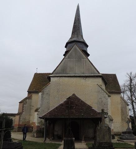 Photo du Monument Historique Chapelle de Brantigny situé à Piney