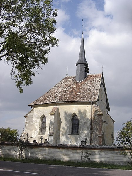 Photo du Monument Historique Chapelle du cimetière situé à Piney
