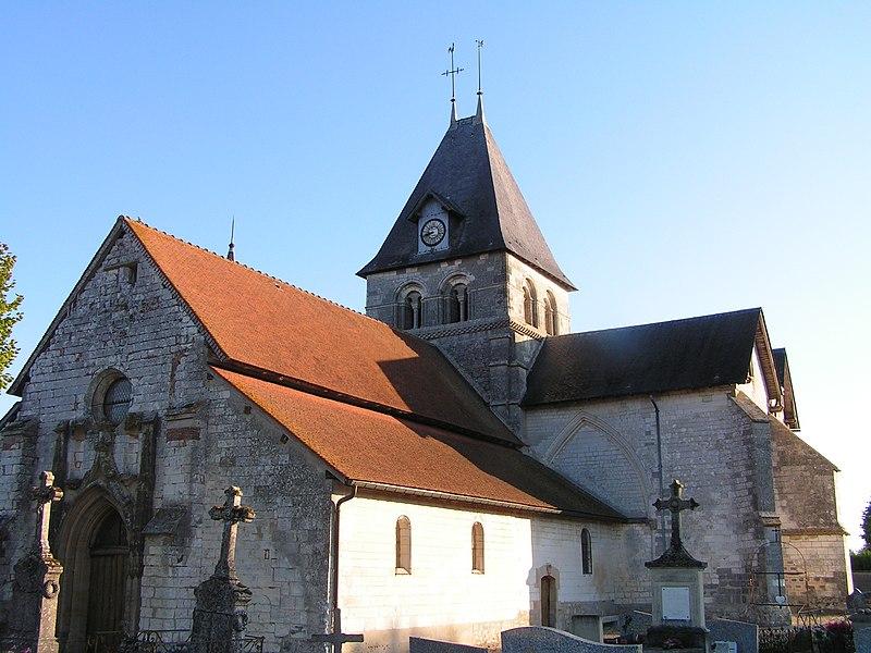 Photo du Monument Historique Eglise situé à Poivres
