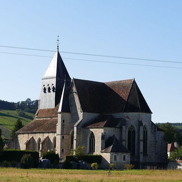 Photo du Monument Historique Eglise situé à Polisot