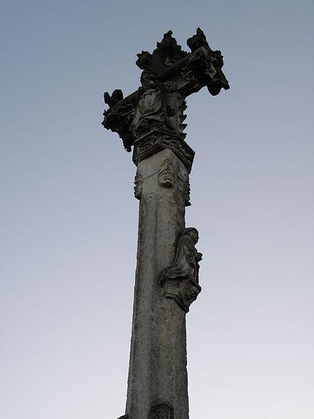 """Photo du Monument Historique Croix de chemin dite """"croix curé"""" situé à Polisy"""