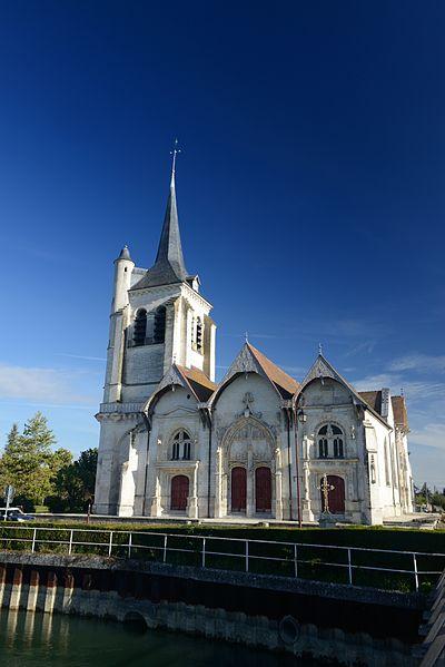 Photo du Monument Historique Eglise situé à Pont-Sainte-Marie