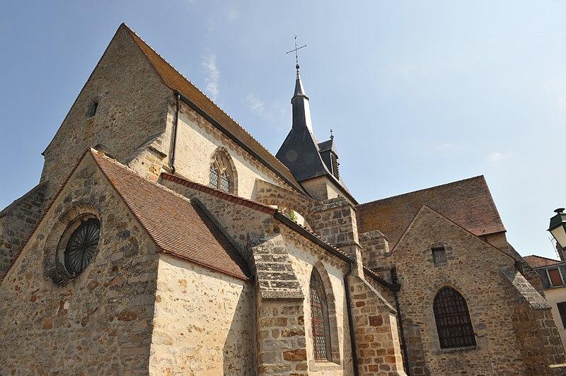Photo du Monument Historique Eglise situé à Pont-sur-Seine