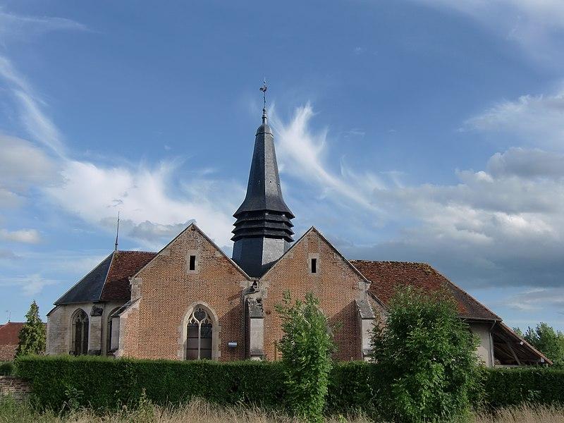 Photo du Monument Historique Eglise situé à Précy-Saint-Martin