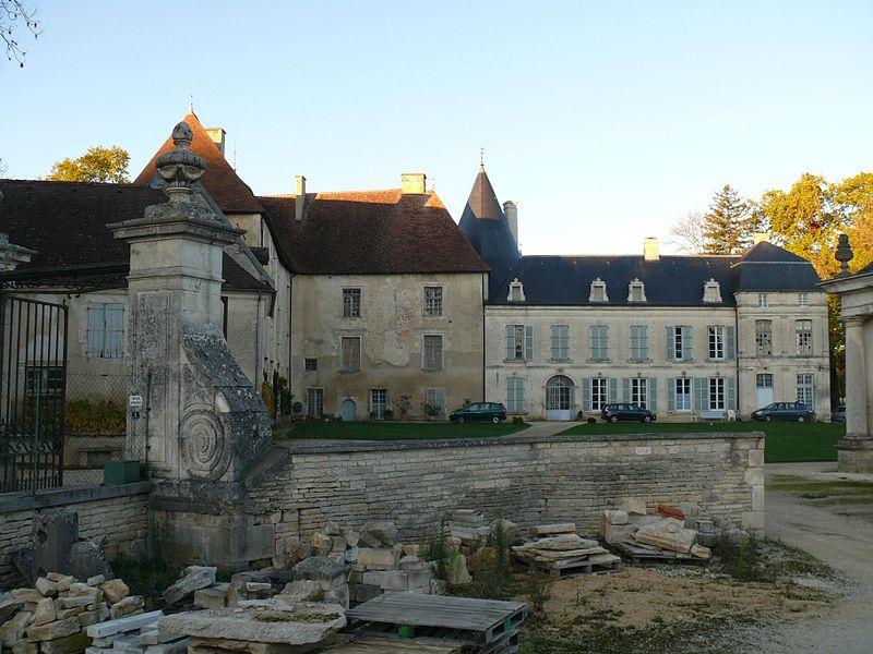 Photo du Monument Historique Château de Ricey-Bas situé à Riceys (Les)