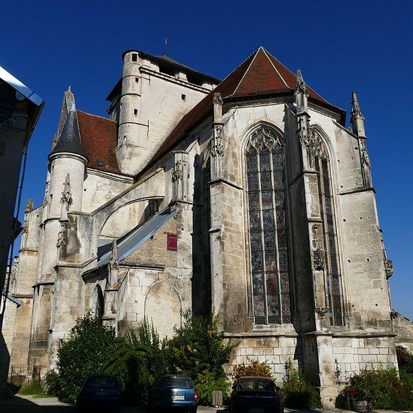 Photo du Monument Historique Eglise Saint-Jean Baptiste de Ricey-Haute-Rive situé à Riceys (Les)