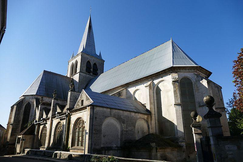 Photo du Monument Historique Eglise Saint-Vincent de Ricey-Haut situé à Riceys (Les)