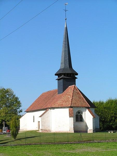 Photo du Monument Historique Eglise situé à Ramerupt