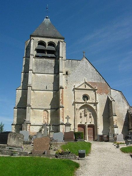 Photo du Monument Historique Eglise situé à Rosnay-l'Hôpital
