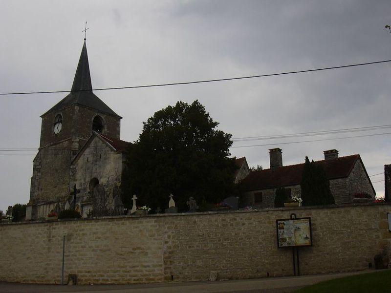 Photo du Monument Historique Eglise Saint-Maurice situé à Rouvres-les-Vignes