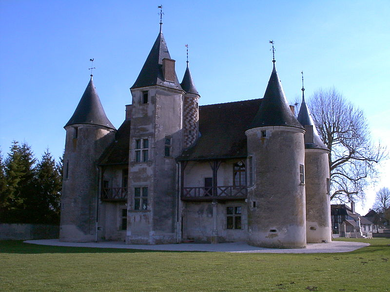 Photo du Monument Historique Manoir des Tourelles situé à Rumilly-lès-Vaudes