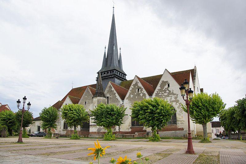 Photo du Monument Historique Eglise Saint-André situé à Saint-André-les-Vergers