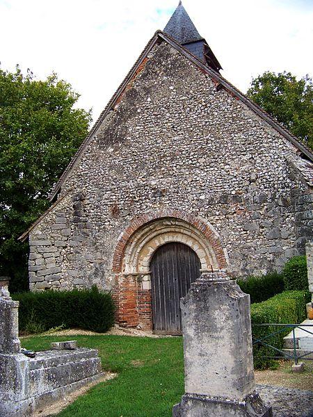 Photo du Monument Historique Chapelle de Courmononcle situé à Saint-Benoist-sur-Vanne