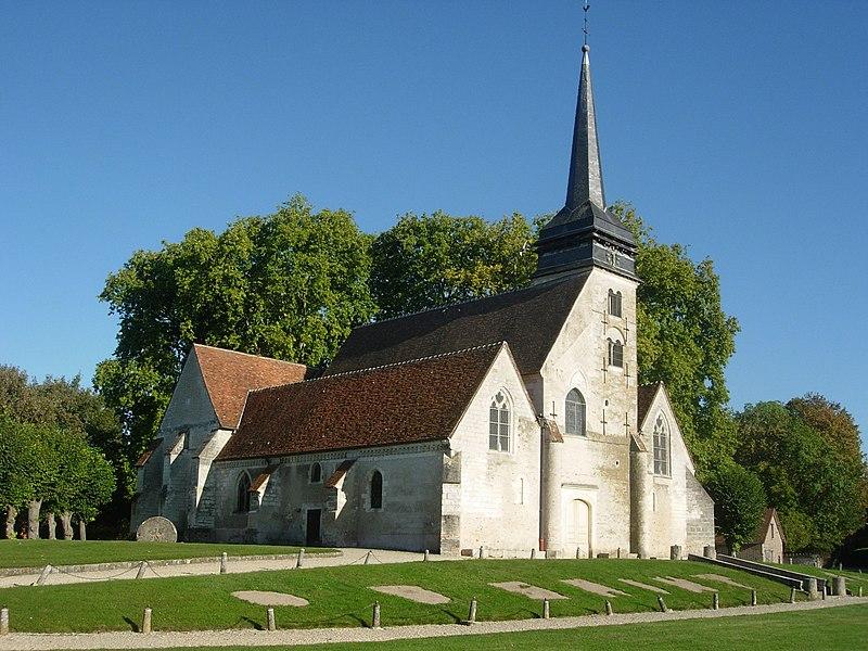 Photo du Monument Historique Eglise situé à Saint-Lyé