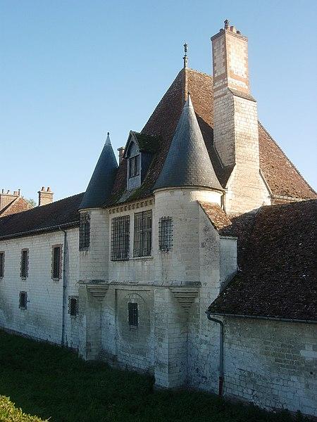 Photo du Monument Historique Château de Vermoise situé à Sainte-Maure