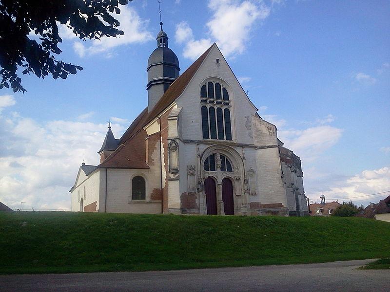Photo du Monument Historique Eglise Saint-Phal situé à Saint-Phal