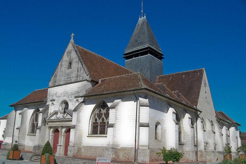 Photo du Monument Historique Eglise situé à Sainte-Savine