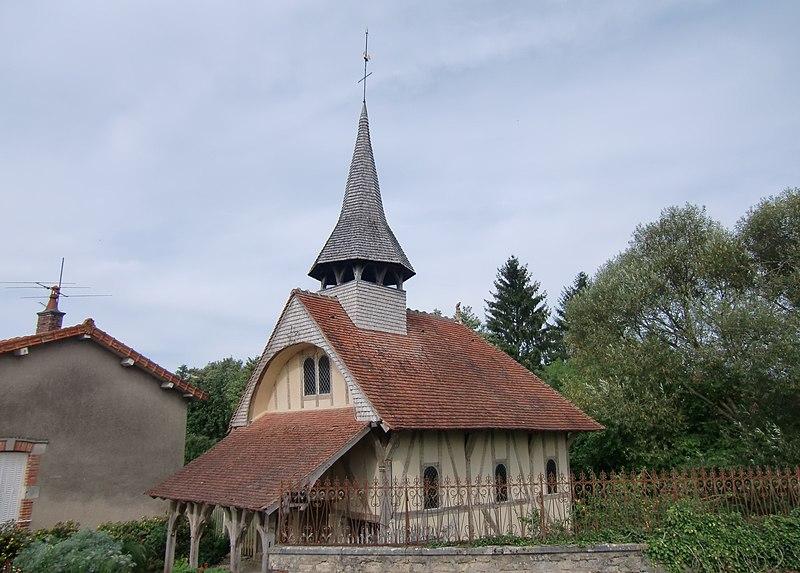 Photo du Monument Historique Chapelle en bois situé à Soulaines-Dhuys