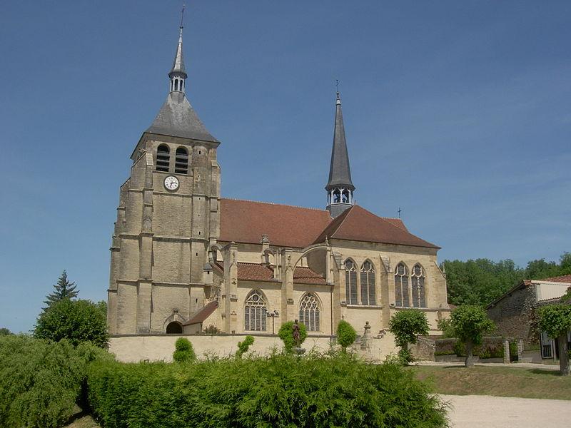Photo du Monument Historique Eglise Saint-Laurent situé à Soulaines-Dhuys