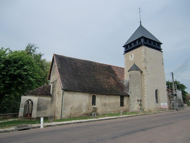 Photo du Monument Historique Eglise situé à Trannes
