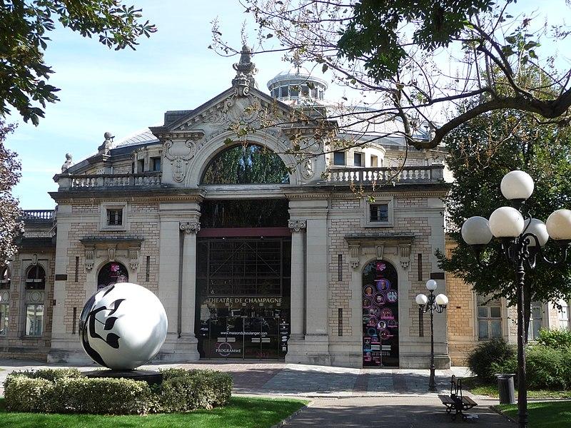 Photo du Monument Historique Ancien cirque municipal, puis Palais des congrès situé à Troyes