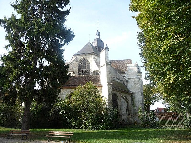 Photo du Monument Historique Eglise Saint-Martin-es-Vignes situé à Troyes