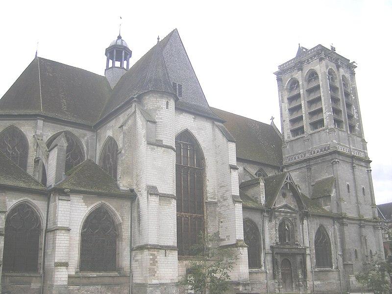 Photo du Monument Historique Eglise Saint-Nizier situé à Troyes