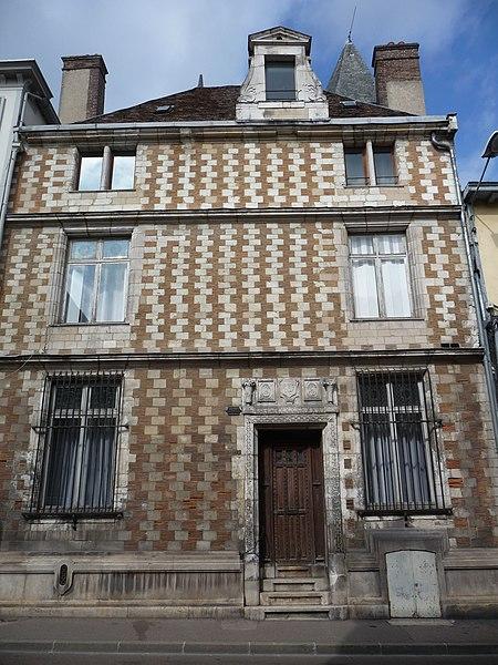 Photo du Monument Historique Hôtel d'Autruy situé à Troyes