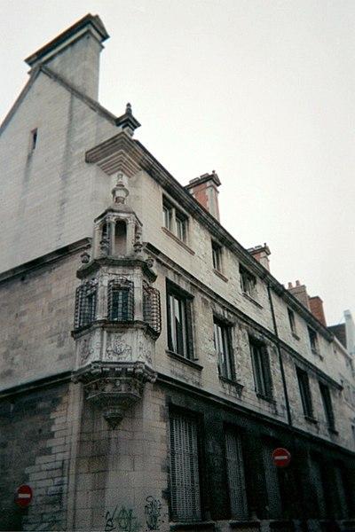 Photo du Monument Historique Hôtel de Marisy situé à Troyes