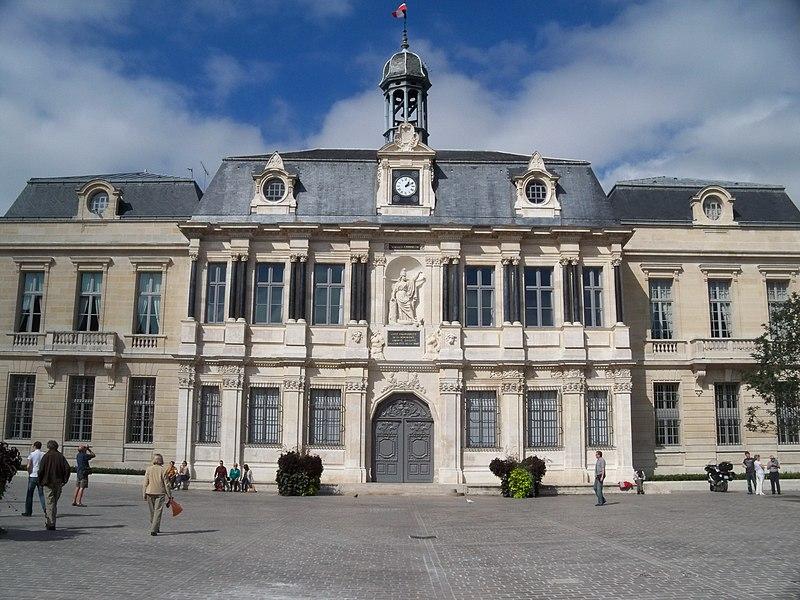 Photo du Monument Historique Hôtel de ville situé à Troyes