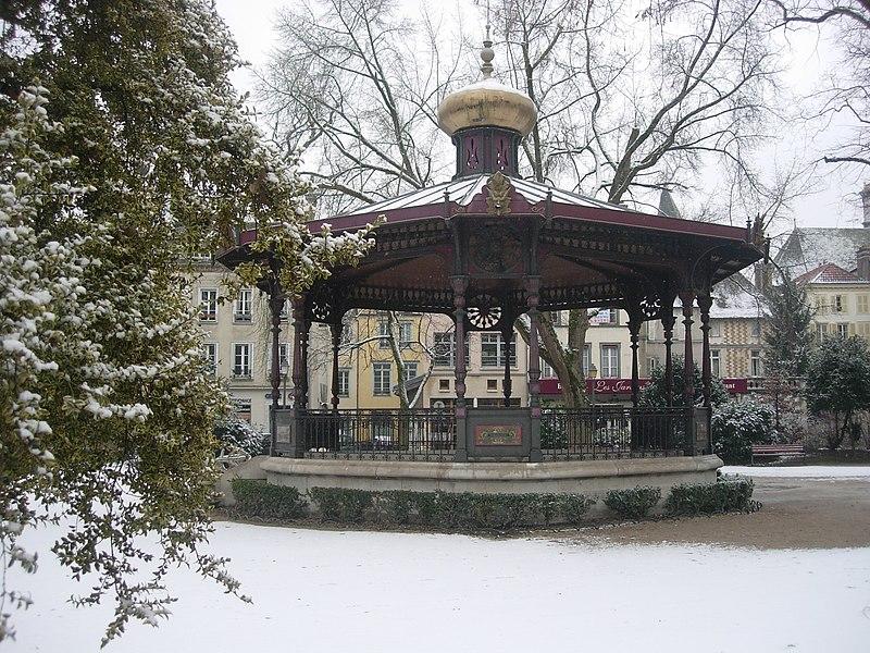 Photo du Monument Historique Kiosque à musique situé à Troyes