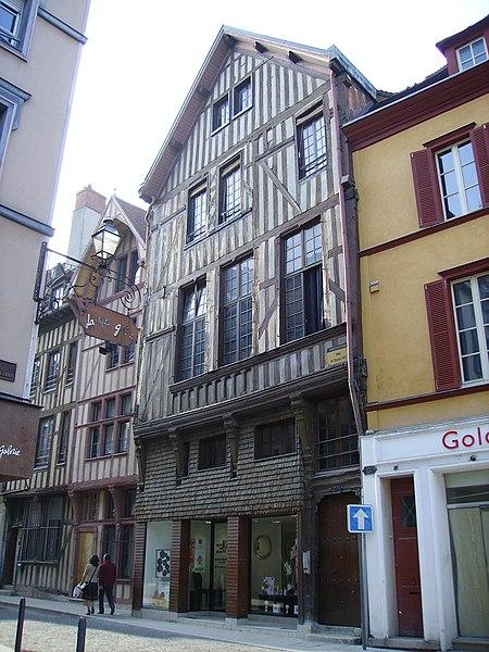 Photo du Monument Historique Maison de l'Election situé à Troyes