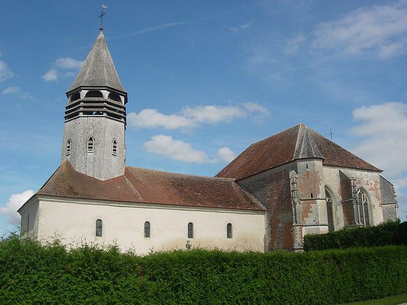 Photo du Monument Historique Eglise situé à Vallentigny