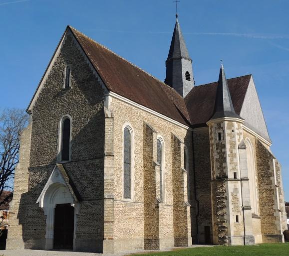 Photo du Monument Historique Eglise situé à Vanlay