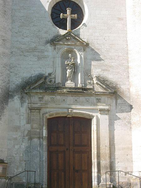 Photo du Monument Historique Eglise de l'Assomption situé à Vauchassis