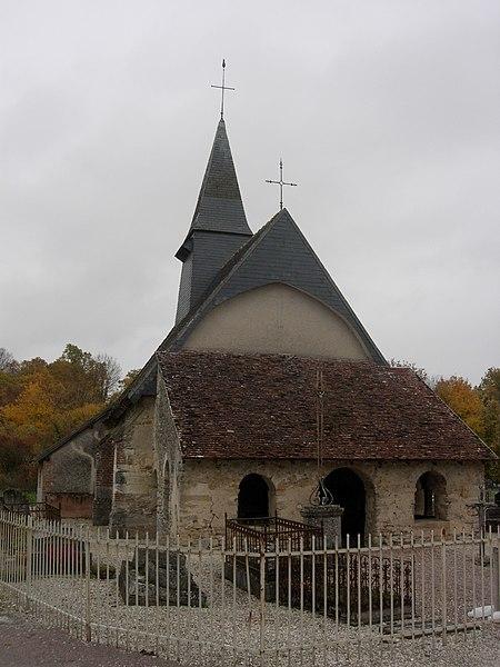 Photo du Monument Historique Chapelle Saint-Aventin situé à Verrières