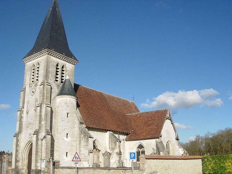 Photo du Monument Historique Eglise situé à Verrières