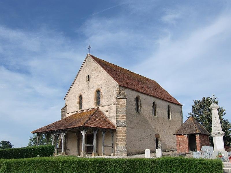Photo du Monument Historique Eglise situé à La Ville-aux-Bois