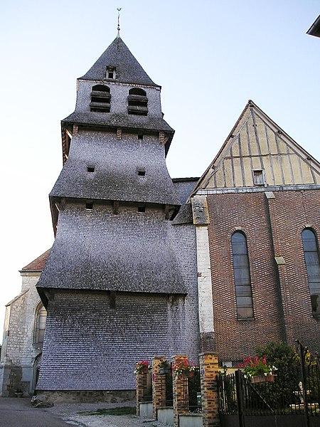 Photo du Monument Historique Eglise de l'Assomption de la Vierge situé à Villemaur-sur-Vanne