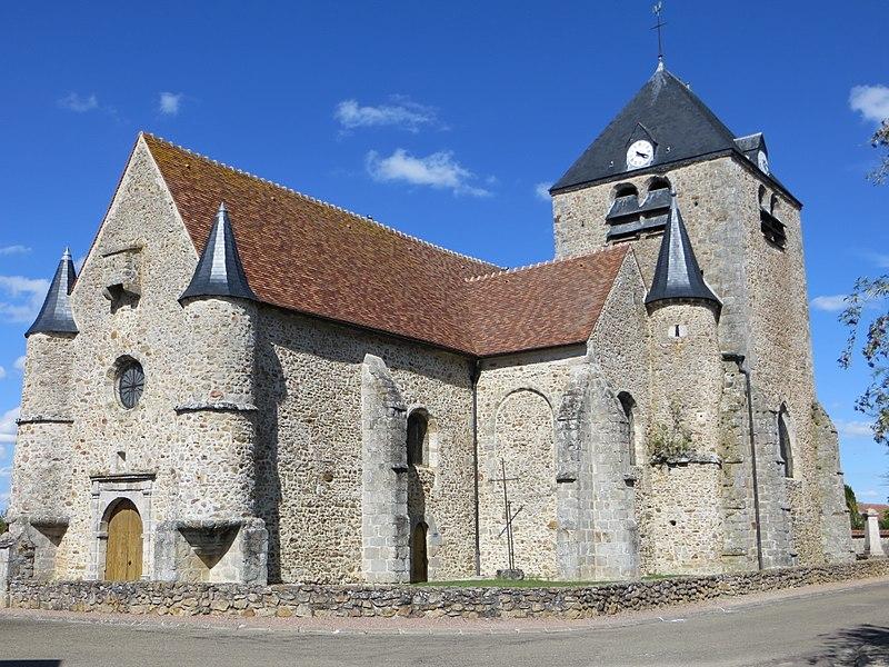 Photo du Monument Historique Eglise situé à Villeneuve-au-Châtelot (La)