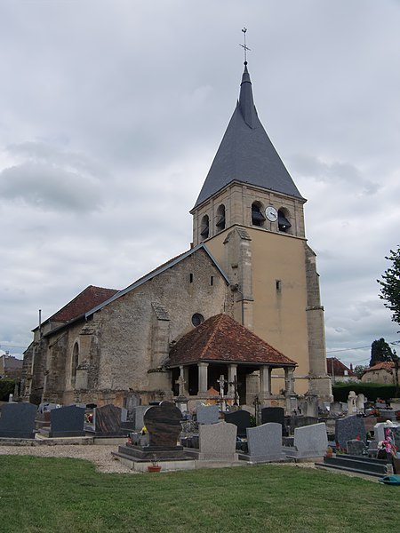 Photo du Monument Historique Eglise situé à Ville-sur-Terre
