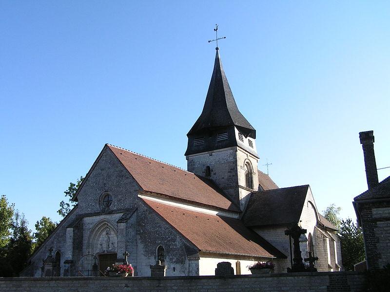 Photo du Monument Historique Eglise situé à Villiers-Herbisse