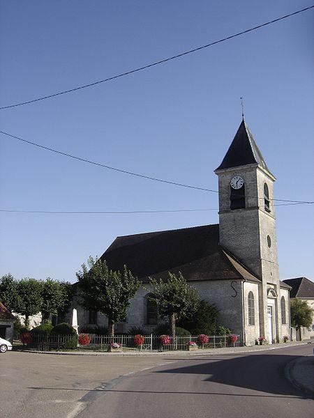 Photo du Monument Historique Eglise Saint-Symphorien situé à Bligny