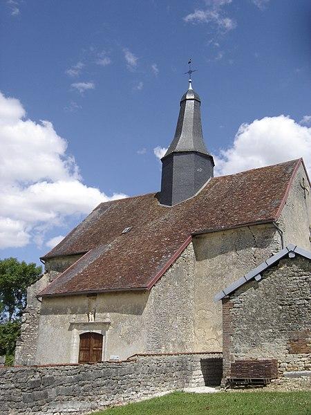 Photo du Monument Historique Eglise de Puits situé à Puits-et-Nuisement
