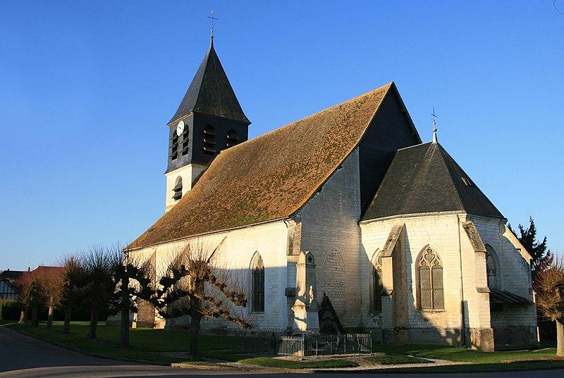 Photo du Monument Historique Eglise Saint-Martin situé à Chennegy