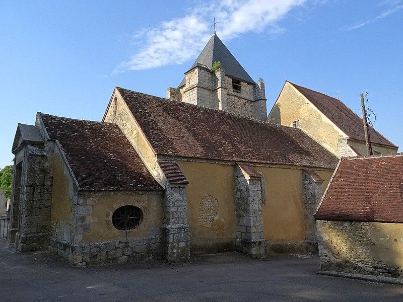 Photo du Monument Historique Eglise Saint-Ferréol situé à La Saulsotte