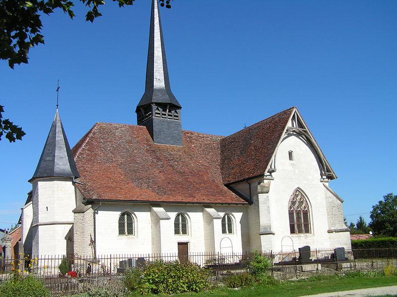 Photo du Monument Historique Eglise Saint-Laurent situé à Yèvres-le-Petit