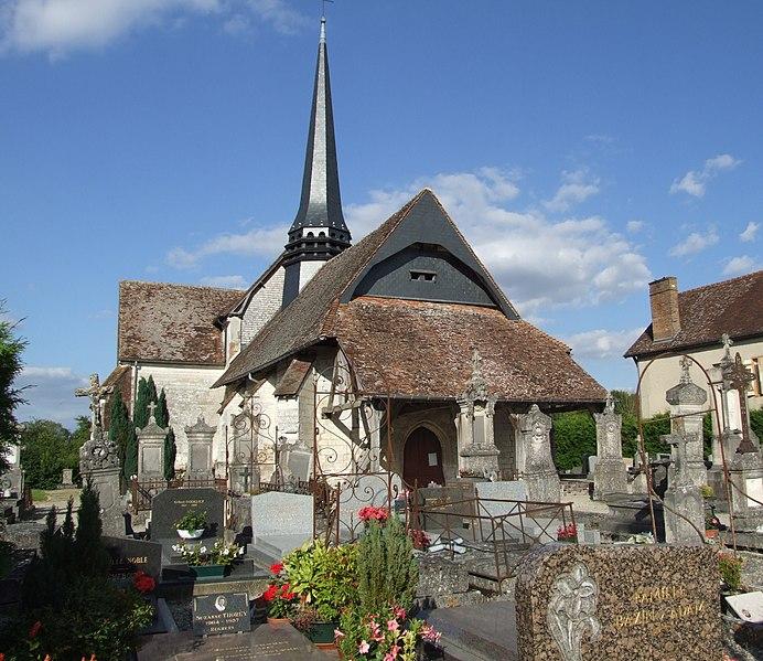 Photo du Monument Historique Eglise de la Nativité de la Vierge situé à Villy-le-Maréchal